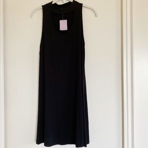 Lani Black Sleeveless Dress